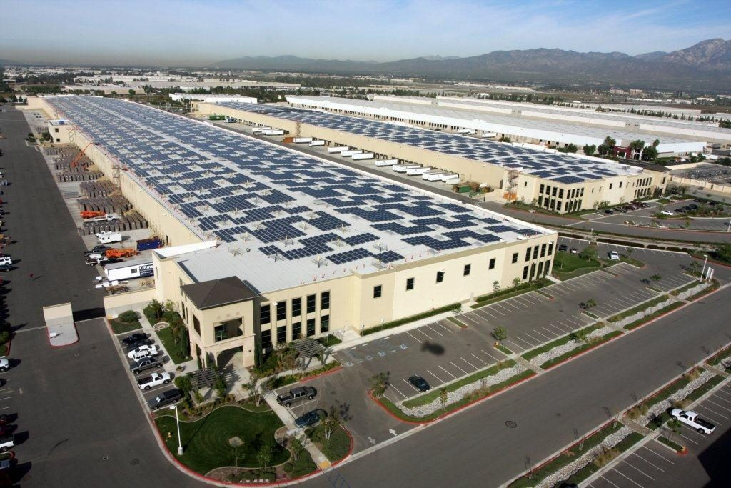 Industry roof-top solar.